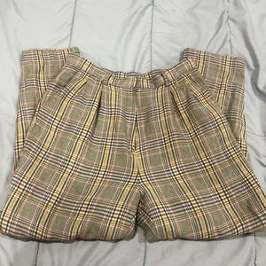 AUTHENTIC Paolo Gucci Plaid Trousers